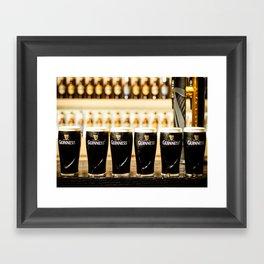 Guinness Time Framed Art Print