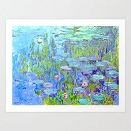 Water Lilies monet : Nympheas Art Print