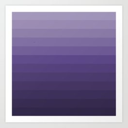 Ultra Violet - Family Color (Fourteen brothers) Art Print