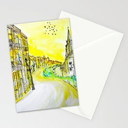 A Golden Town Stationery Cards