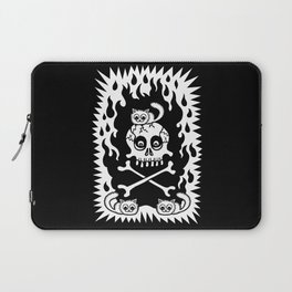 Death, Destruction and Fluffy Kittens Laptop Sleeve