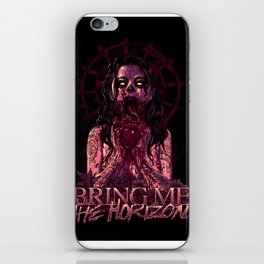 BMTH Zombie Girl Eat Heart iPhone Skin
