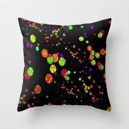 Universe of Color Throw Pillow