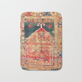 Konya Central Anatolian Prayer Rug Bath Mat
