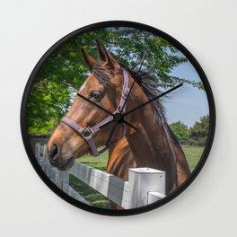 The Horse II Wall Clock