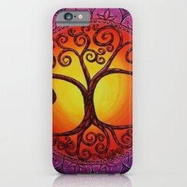 Tree of Life Mandala iPhone Case