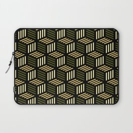 Cubic Olive Laptop Sleeve