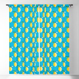 Fruit: Lemon Blackout Curtain