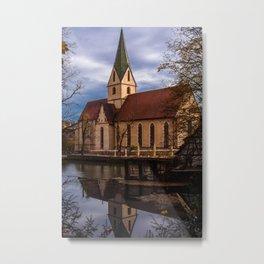 Monastery church of Blaubeueren Metal Print