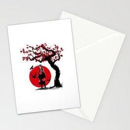 Ninja under the sun Stationery Cards