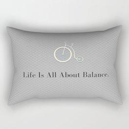 Life is All About Balance  Rectangular Pillow