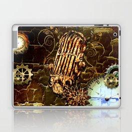 Steampunk, micropphone Laptop & iPad Skin