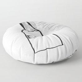 Bottle of Milk Floor Pillow