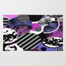 an-ARC-hy! (Abstract, geometric, sphere, circle, pop art, chaotic, eclectic, random artwork) Rug