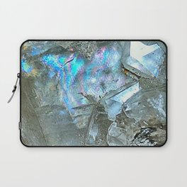 White Calcite Laptop Sleeve
