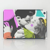 kiss iPad Cases featuring Kiss by Zeke Tucker