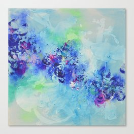 Mood indigo Canvas Print