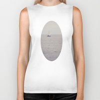 sailboat Biker Tanks featuring Sailboat by Jessica Torres Photography