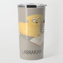 The Labrarian Travel Mug