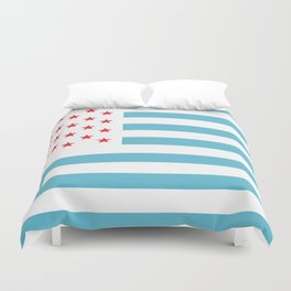 U.S.A. Flag Modified Duvet Cover
