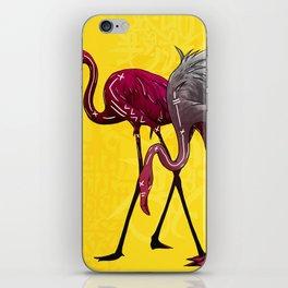 The Flamingo Gang iPhone Skin