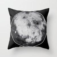 titan Throw Pillows featuring Titan #4 by Tobias Bowman