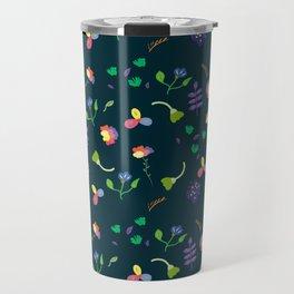 Spring Floral Pattern II Travel Mug