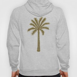 Gold Palm Tree Hoody