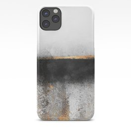 Soot And Gold iPhone Case