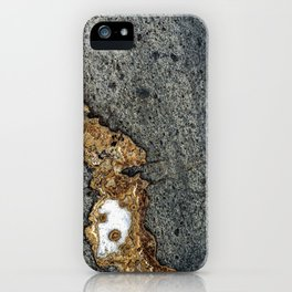 Gold Inlay Marble iPhone Case