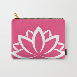 The white lotus Carry-All Pouch