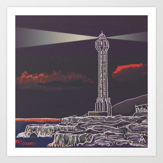 Lighthouse / Punta Lava La Palma Art Print