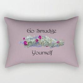 Go Smudge Yourself Rectangular Pillow