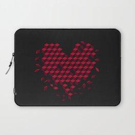 heart-shaped pattern Laptop Sleeve