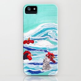 Chicken Dipping iPhone Case