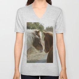 Horse Conversations Unisex V-Neck