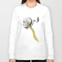 spinal column Long Sleeve T-shirt