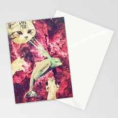 Galactic Cats Saga 2 Stationery Cards