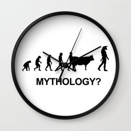 Minotaur mythology Wall Clock