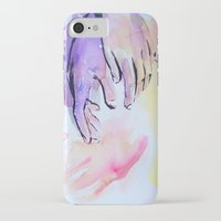 hands iPhone & iPod Cases featuring Hands by SirScm