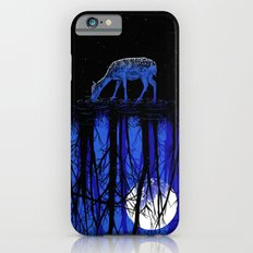 deep blue forest iPhone 6s Slim Case