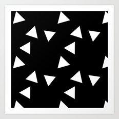 The Triangles Art Print