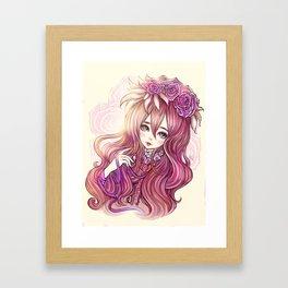 baby doll *GirlsCollection* Framed Art Print