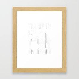 Mens Funny Woodworking T-Shirt Carpentry Woodworker Gift Framed Art Print
