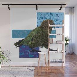 NZ Native Birb Collection - Kea Wall Mural