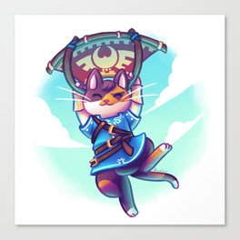 Cosplay Kittens - Kitten of The Wild Canvas Print