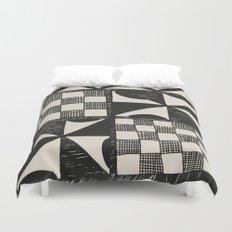 Tapa Cloth | Pacifica Patterns | Tribal Art Duvet Cover