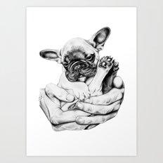 A little something sweet. Art Print