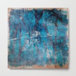 竹的海洋 (Bamboo Sea) Metal Print