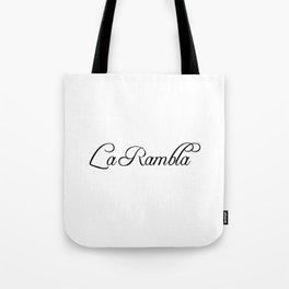 La Rambla Tote Bag